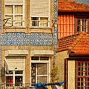 Laundry Day In Porto - Photo Poster
