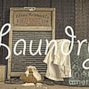 Laundry Room Sign Poster
