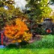 Laura Bradley Park Japanese Garden 02 Poster