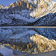 Laurel Mt And Convict Lake Sierra Poster
