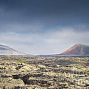 Lava Flows Lanzarote Poster