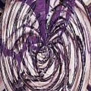 Lavender Bead Art Poster
