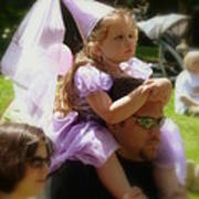 Lavender Princess Poster