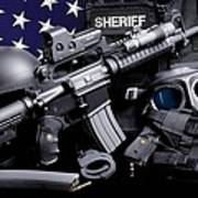 Law Enforcement Tactical Sheriff Poster