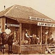 Law West Of The Pecos Poster