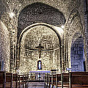 Le Castellet Medieval Church Poster