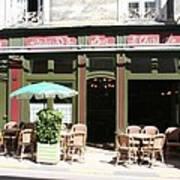 Le Charleston Bar In Tournus Poster