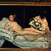 Le Grande Odalisque By Ingre Poster
