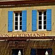 Le Lion Gourmand in Arles Poster
