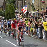 Le Tour De France 2014 - 4 Poster