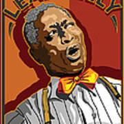 Leadbelly Delta Blues Poster