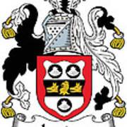 Leader Coat Of Arms Irish Poster