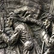 Leading The Way - State Of Delaware Monument Detail-j Gettysburg Poster