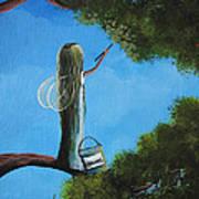Leaf Fairy By Shawna Erback Poster by Shawna Erback
