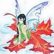 Leaf Fairy Poster