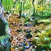 Leaf Stream Poster