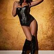 Leather Corset Poster