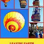 Leaving Earth Poster