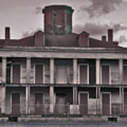 Louisiana Plantation House Poster