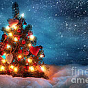 Led Christmas Lights Poster