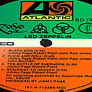 Led Zeppelin Iv Side 1 Poster