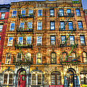 Led Zeppelin Physical Graffiti Building In Color Poster