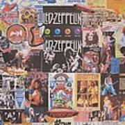 Led Zeppelin Years Collage Poster