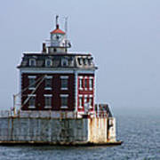 Ledge Light - Connecticut's House In The River  Poster