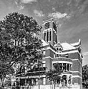 Lee County Courthouse In Giddings Texas Poster
