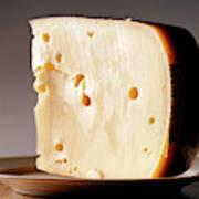 Leerdammer Cheese, Prague, Czech Poster