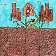 Leg Jam Poster by Richard Hockett