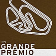 Legendary Races - 1973 Grande Premio Do Brasil Poster