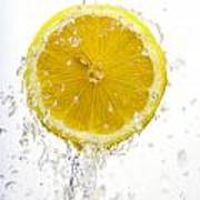 Lemon Splash Poster