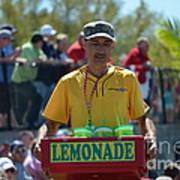 Lemonade Vendor Poster