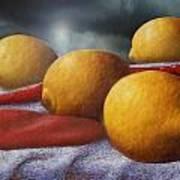 Lemons And Chilis Poster