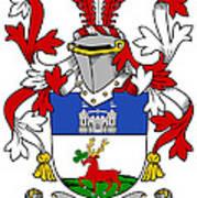 Lenihan Coat Of Arms Irish Poster