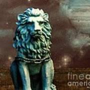 Leo Celestial Poster
