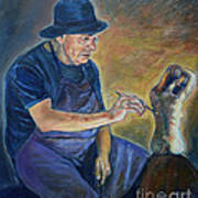 Figurative Painting Poster