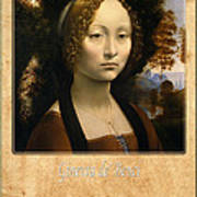 Leonardo Da Vinci 2 Poster
