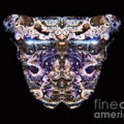 Leopard Heart Bowl Poster