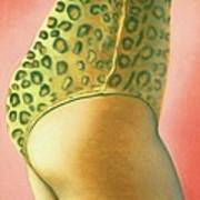 Leopard Suit Poster