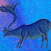 Les Combarelles Reindeer  Poster