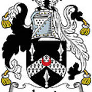 Lewis Coat Of Arms Irish Poster