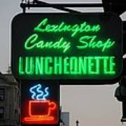 Lexington Candy Shop Poster