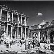 Library Of Celsus - Ephesus Poster