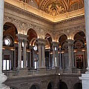 Library Of Congress Washington Dc Poster