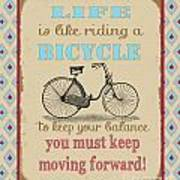 Life-bicycle Poster