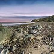 Life Rocks Sunset Poster