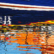 Lifeboat Reflections Poster