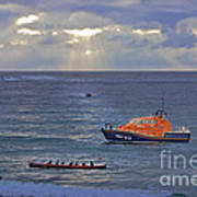 Lifeboats And A Gig Poster